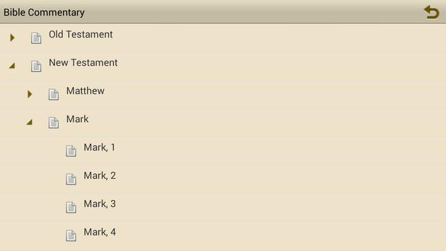 Bible Commentary (MHC) apk screenshot