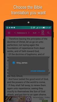 Bible Offline apk screenshot