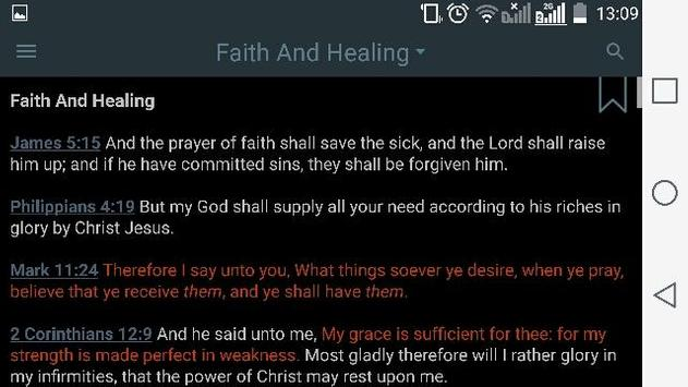 Bible Verses by Topic apk screenshot