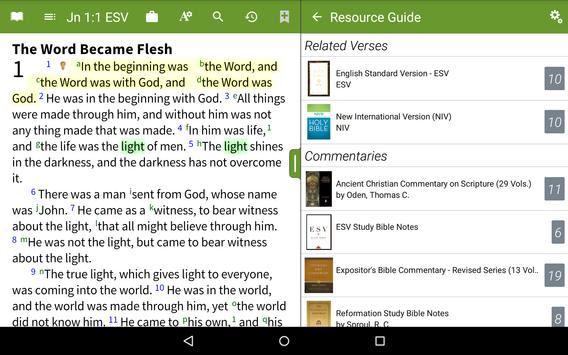 Bible by Olive Tree apk screenshot