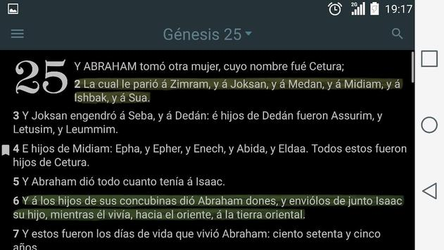 La Biblia Sagradas Escrituras apk screenshot