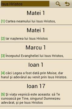 Biblia Cornilescu apk screenshot