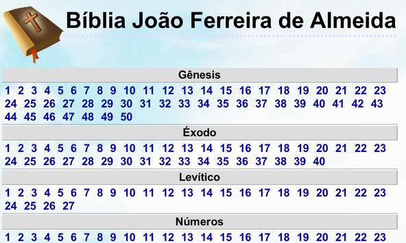 Bíblia João Ferreira d Almeida poster