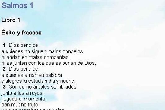 Biblia Lenguaje Sencillo poster