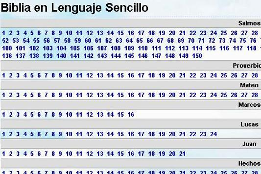 Biblia Lenguaje Sencillo apk screenshot