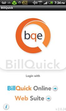 BillQuick Android poster