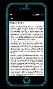 Biography of Prophet Muhammad apk screenshot
