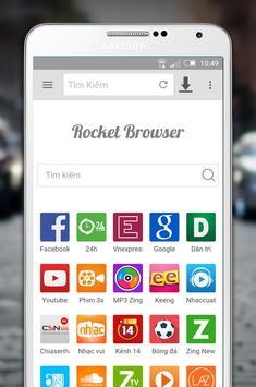 Rocket Browser HD poster