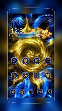 Golden Flower Sapphire poster