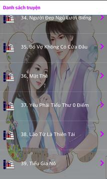 Truyện Ngôn Tình 17 - Offline apk screenshot
