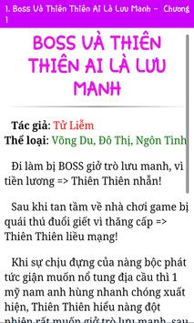 Truyện Đô Thị 1 - Offline apk screenshot