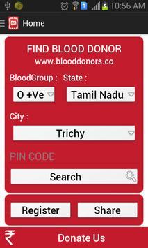 BLOODDONORS apk screenshot