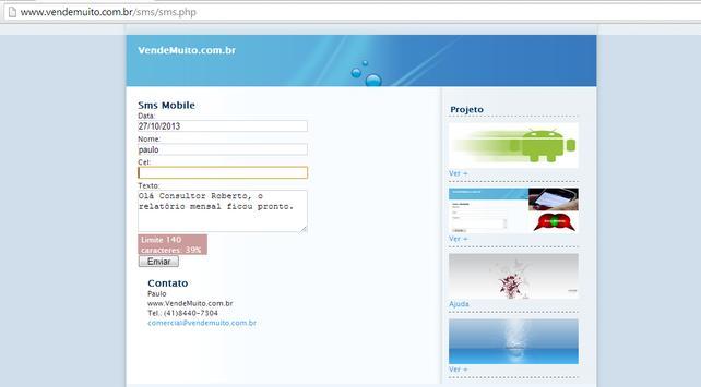 SmsSay apk screenshot