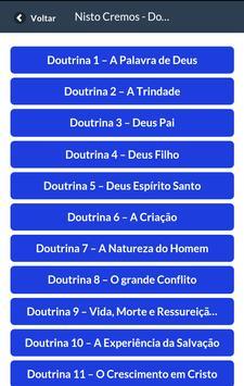 Fortes na Doutrina - APe apk screenshot