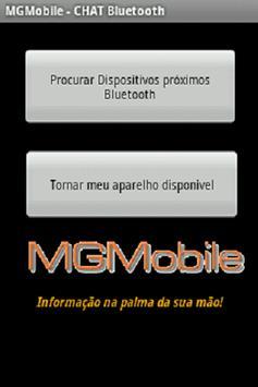 Chat usando Bluetooth poster