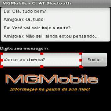 Chat usando Bluetooth apk screenshot