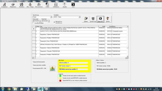 Automação de Força de Vendas apk screenshot