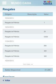 Mundo Caixa apk screenshot