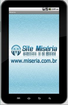 Site Miséria poster