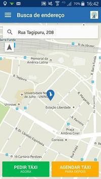 Paulista Rádio Táxi apk screenshot