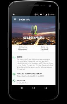 A2 Guia de empresas apk screenshot