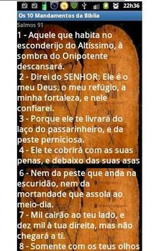 Os 10 Mandamentos da Bíblia apk screenshot