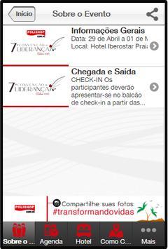 EVENTOS COM.VC apk screenshot