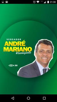 Vereador André Mariano poster