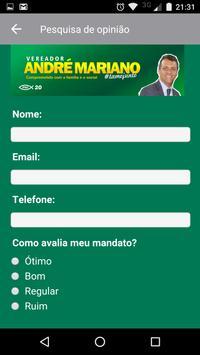 Vereador André Mariano apk screenshot