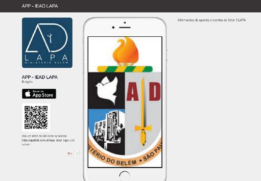 APP - IEAD LAPA poster