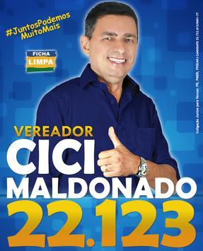 Vereador Cici Maldonado 22.123 poster
