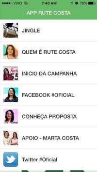 APP RUTE COSTA apk screenshot