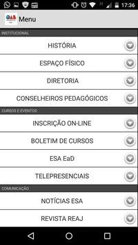 ESA apk screenshot