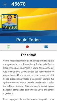 Paulo Farias 45-678 poster