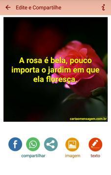 Mensagens e Frases com Flores poster