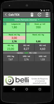 CalcTEX - Textile Calculator apk screenshot