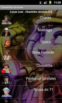 Chavinho Groove sons do Chaves poster