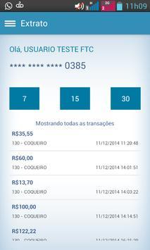 Cartão CTF BR Mobile apk screenshot