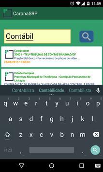 CaronaSRP - Editais e Atas apk screenshot