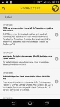 Informe CSPB apk screenshot