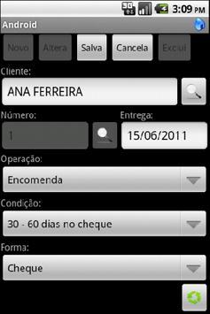 Automação da Força de Vendas apk screenshot