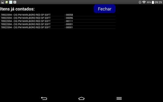 Contagem de estoque apk screenshot