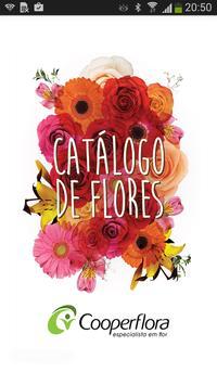 Catálogo de Flores poster