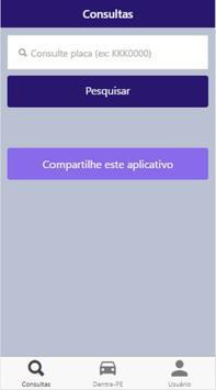 Consulta Detran-PE poster