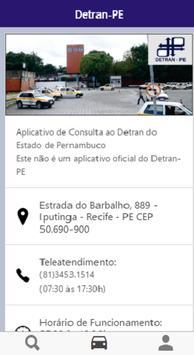 Consulta Detran-PE apk screenshot