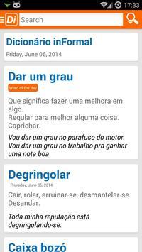 Dicionário inFormal apk screenshot