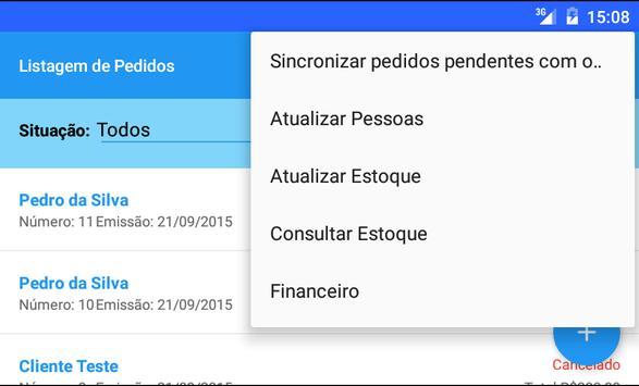 Força de Vendas G5 apk screenshot