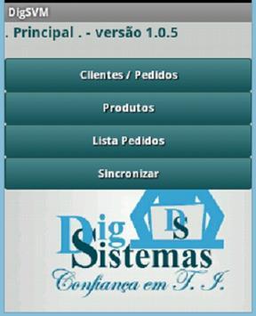 DigSistemas Vendas Mobile poster