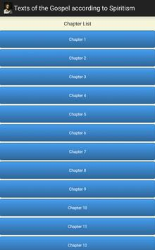 Texts Gospel Spiritism apk screenshot
