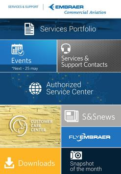 Embraer Services & Support poster